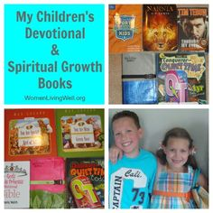 My Children's Devotional and Spiritual Growth Books