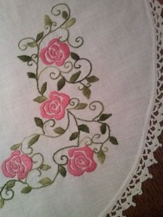 Embroidered tablecloth embroidery tablecloth square by stankashop
