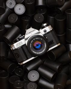 """The Darkroom en Instagram: """"The Canon AE-1 Program is considered to be one of the best film cameras for beginners due to its' auto program mode but it also can shoot…"""""""