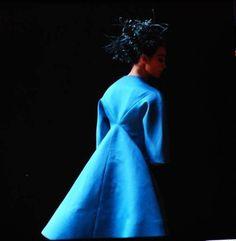BLUE. Pierre Cardin for Yves Saint Lauren, 1962