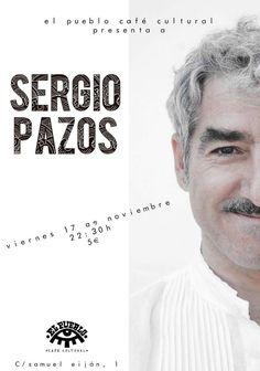 Sergio Pazos en El Pueblo Café Cultural, Ourense escea escena comedia monólogo
