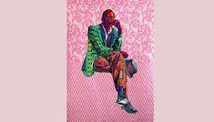 Artist Bisa Butler Stitches Together the African American Experience Her dynamic quilts that reimagine old portraits will be on display in New York in her first solo exhibition African American Artist, American Artists, Kehinde Wiley, Old Portraits, High School Art, Museum Exhibition, National Museum, Quilt Making, Black Art