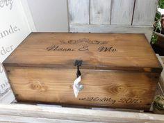 ♥ persönliche Hochzeitskiste ♥ Kiste zur Taufe  von Kistenjack auf DaWanda.com