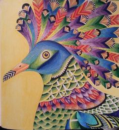 Millie Marotta Tropical Wonderland – Coloured by Shirly Shachaf