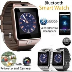 Bluetooth Smart Watch Phone + Camera SIM Card For A... | Tophatter