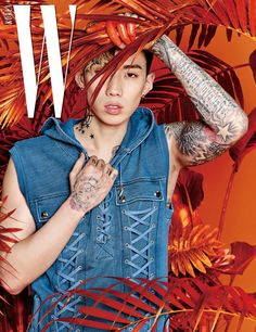 Jay Park is full of raw masculinity for 'W' | allkpop.com