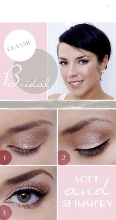 Art Bridal Makeup Looks: Bridal Makeup Tips: Bridal Makeup Tutorial make-up Bridal Makeup Tips, Bridal Makeup Looks, Natural Makeup Looks, Wedding Hair And Makeup, Bridal Beauty, Wedding Beauty, Soft Makeup, Simple Makeup, Natural Beauty