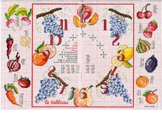 Gallery.ru / Фото #4 - Encyclopedie du Point de Croix-Fruits-Legumes et autres Gour - Chispitas