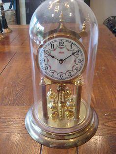 German Kundo antique mantel clock