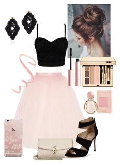 """K.Paleeva"" by paleeva on Polyvore featuring мода, Ballet Beautiful, Dolce&Gabbana, Carvela, Too Faced Cosmetics, Bulgari и Anna e Alex"