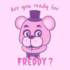 "karorine: "" Are you ready for Freddy? TWITTER / INSTAGRAM / FACEBOOK """