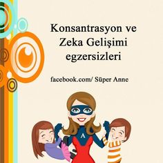 zeka gelişimi egzersizleri in 2020 Science Education, Kids Education, Infant Activities, Activities For Kids, Budget Planer, Education English, Brain Teasers, School Counseling, Child Development