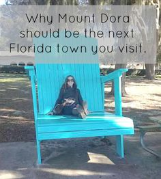 Why Mt Dora should be the next Florida town you visit. |THE FRUGAL TRAVEL MOM| Mt Dora, Florida, Classic Florida, Girls trip, Family, Fun, Small town