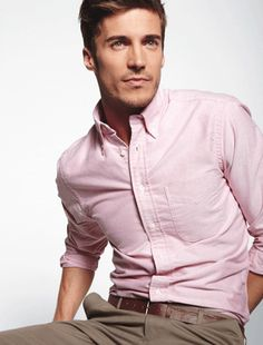 Light Pink Shirt For Man
