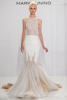 Wedding gown by Mark Zunino for Kleinfeld