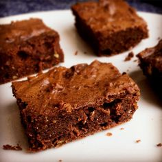 Bodybuilding.com - Protein Brownies made from chickpeas, cocoa powder, protein powder, honey, PB, Baking Powder, Almond Milk, and an egg white