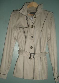 I bought this cozy trench coat from Vero Moda on www.bestseller.com