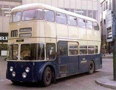 1962 Daimler FLEETLINE CRG 6LW - Walsall Corporation #1 became part of West Midlands fleet in 1969
