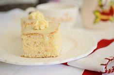 prajitura-cu-lamaie-4 Vanilla Cake, Desserts, Food, Tailgate Desserts, Deserts, Essen, Postres, Meals, Dessert