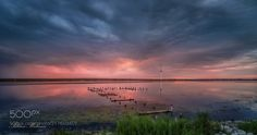 After the sunset (Adrian Malanca / Eforie Nord / Romania) Cool Landscapes, Beautiful Landscapes, Cool Photos, My Photos, Nature Photos, Romania, Sunset, Day, Photograph