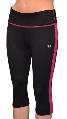 Under Armour Women's UA Escape Fitted Tight Capri Pants - Black-XL Under Armour. $44.98