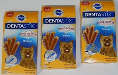 Pedigree Dentastix Original Flavor Treats for Toy/Small Adult Dogs, 24-Count 6.0 Oz. Bag (Pack of 3) *** Check out the image by visiting the link. (This is an affiliate link and I receive a commission for the sales)