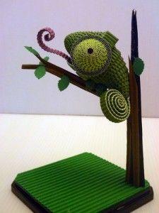 quilled Chameleon....