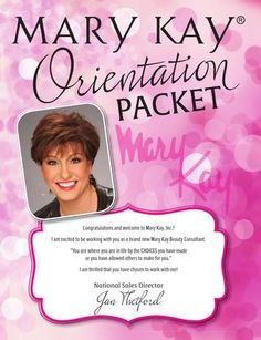 Mary Kay Orientation Packet Orientation packet created for Jan Thetford, National Sales Director. Mandy Kay, Mary Kay Ash, Mary Kay Starter Kit, Debut Party, Selling Mary Kay, Mary Kay Party, Mary Kay Cosmetics, Beauty Consultant, Independent Consultant