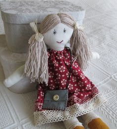 Soft  Rag Doll by Mayflair on Etsy
