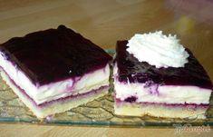 Blueberry pie with delicious cream Top-Rezepte. Easy Vanilla Cake Recipe, Easy Cake Recipes, Sweet Recipes, Salty Snacks, Cake Toppings, Coffee Cake, Fun Desserts, No Bake Cake, Cheesecake