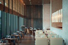 Rocca, a contemporary Turkish restaurant at the glamorous new Raffles Istanbul hotel