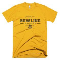 PLAYRS Club Bowling Shirt – Dark