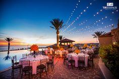 Wedding Decoration at Hotel Pueblo Bonito Sunset Beach, Los Cabos, México. #emweddingsphotography #destinationweddings