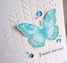 Hello there, today I have a card to share using the same Chevron Rectangle stencil that I used on this card that I made using the Cricut ...