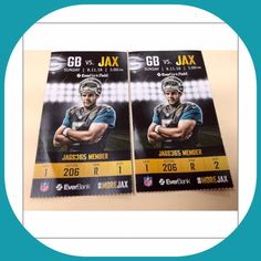 Jacksonville Jaguars vs Green Bay Packers 2 Tickets 09 11 16 Sec 206 Sold Out | eBay