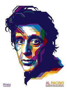 Al Pacino in WPAP style by: http://www.flickr.com/photos/pendekarvektor