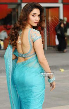 Tamanna Bhatia Latest Hot & Spicy Stills In a Transparent Blue Saree. Indian Actress Hot Pics, Indian Bollywood Actress, Bollywood Girls, Beautiful Bollywood Actress, Bollywood Fashion, Indian Actresses, Bollywood Saree, Beautiful Girl Indian, Most Beautiful Indian Actress