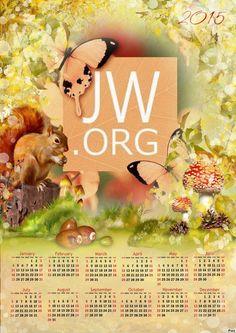 Look what I found! 2015 JW.ORG Calendar.