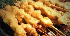 Kyllingspyd Peanøttsaus Chicken Satay