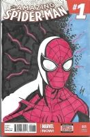 Spider-man by Ty Templeton, Comic Art