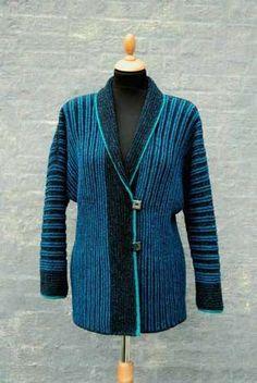 Hanne Falkenberg kit - Thunder blue / Azure / Cobalt / Peacock + Cyclamen - not inexpensive