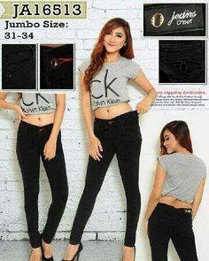"""""Celana jeans jumbo Onet 16513 Material: soft jeans Harga: 155 Warna: hitam Order PIN CS1-5A1F32FA PIN CS2-5FI5DE72 & SMS/WA 087722-575-101  Reseller & Dropship Welcome!  Happy Shopping! :) #jamtangan #jamtanganwanita #jammurah #grosirjam #sweatercouple #flatshoes #jamtanganterbaru #resellerjamtangan #taswanita #sneakerscwe #celanajeansripped #jamtanganartis #olshop #wedgesterbaru #jaketjeans  #resellerwelcome #celanajeans #sepatubandung #celanajeanshw"