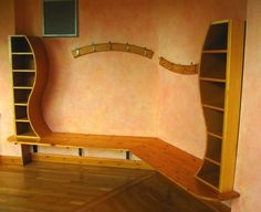 Lazure painted classroom #waldorf #school by patrice