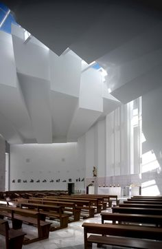 Santa Ana and San Joaquín Church / RGRM Arquitectos  CLICK THIS PIN if you want to learn how you can EARN MONEY while surfing on Pinterest