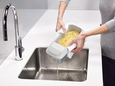 Naczynie do gotowania makaronu Joseph Joseph M-Cuisine ™  White/Orange/Grey