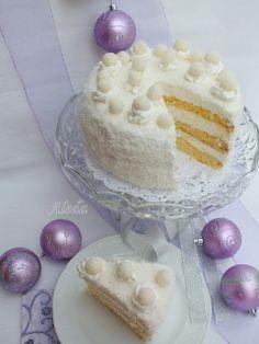 Aleda konyhája: Raffaello torta Hungarian Desserts, Hungarian Recipes, Ital Food, Cold Desserts, Bakery Cakes, Cakes And More, Cake Cookies, Vanilla Cake, Sweet Recipes