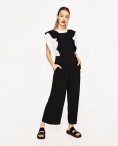 8fba38f120c2 CROPPED STRAPPY JUMPSUIT from Zara Wardrobe Sale