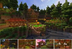 【Minecraft】こんな家に住んでみたい3(森の家) / ないさ さんのイラスト - ニコニコ静画 (イラスト)