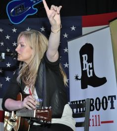 Clare Dunn at the Boot Grill for New From Nashville