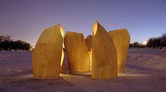 Winnipeg Skating Shelters / Patkau Architects